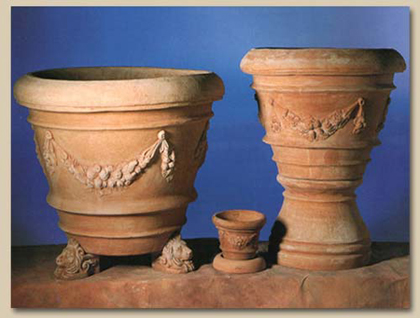 Europaimpruneta terrecotte orcio toscano vaso bocca - Vasi di arredamento da interni ...