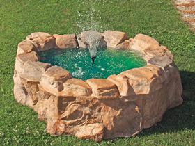 Bacini con bordo laghetto giardino bacino colorazione for Accessori laghetto