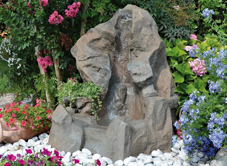 Ruscalli giardinidacqua cascate laghetti ornamentali - Laghetto con cascata da giardino ...