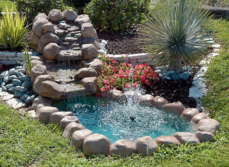 Ruscalli giardinidacqua cascate laghetti ornamentali for Vasche vetroresina per laghetti