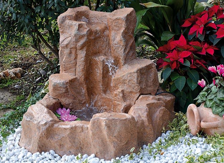 Ruscalli giardinidacqua cascate laghetti ornamentali - Fontana da giardino fai da te ...