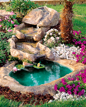 Ruscalli giardinidacqua cascate laghetti ornamentali for Fontane a cascata da giardino