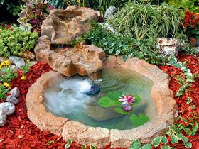 Ruscalli giardinidacqua cascate laghetti ornamentali for Laghetti per tartarughe prezzo