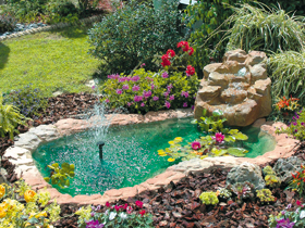 Ruscalli giardinidacqua cascate laghetti ornamentali for Pompe x laghetti