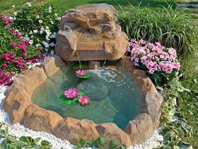 Ruscalli giardinidacqua cascate laghetti ornamentali for Laghetti ornamentali