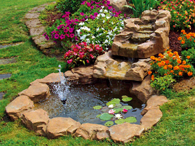 Cascata Giardino Fai Da Te : Ruscalli giardinidacqua cascate laghetti ornamentali giardino