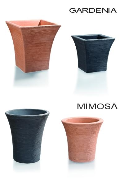 Vasi moderni da interno ed esterno vaso elegante for Mimosa in vaso